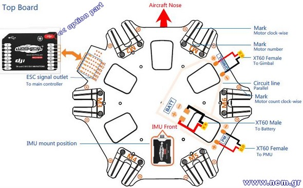 s800 wiring dji a2, s800, spreading wings s800, dji innovations, dji s 800 wookong m wiring diagram at fashall.co